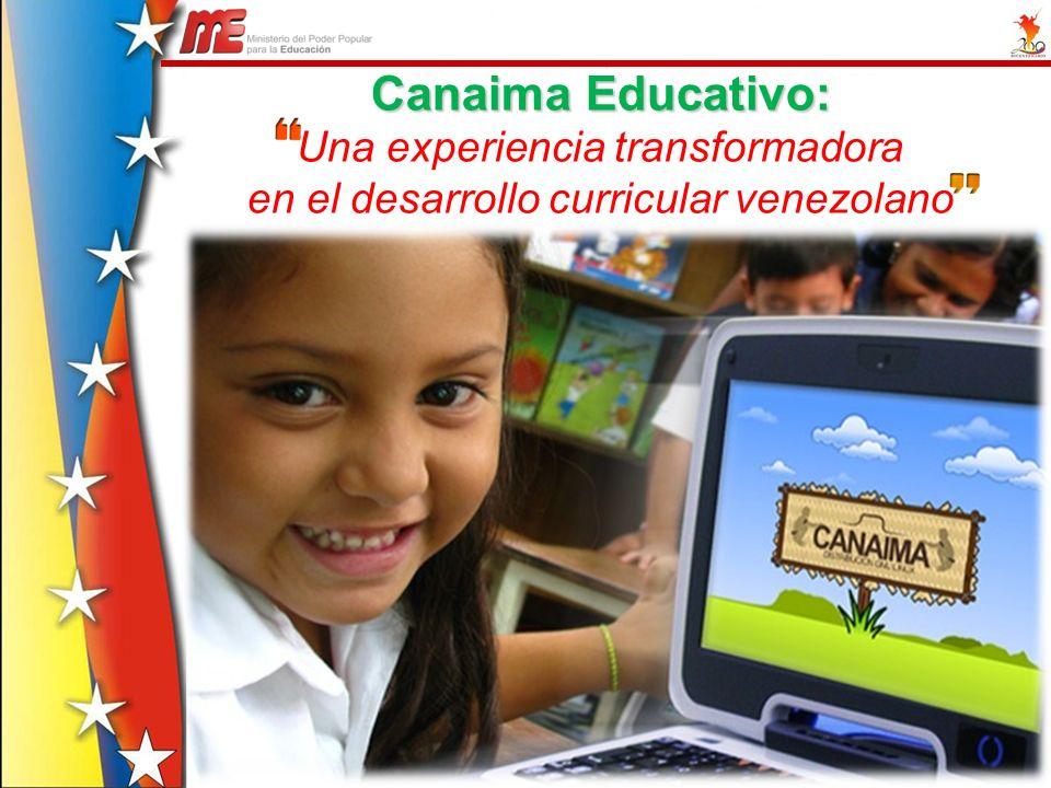 Canaima Educativo: Una experiencia transformadora
