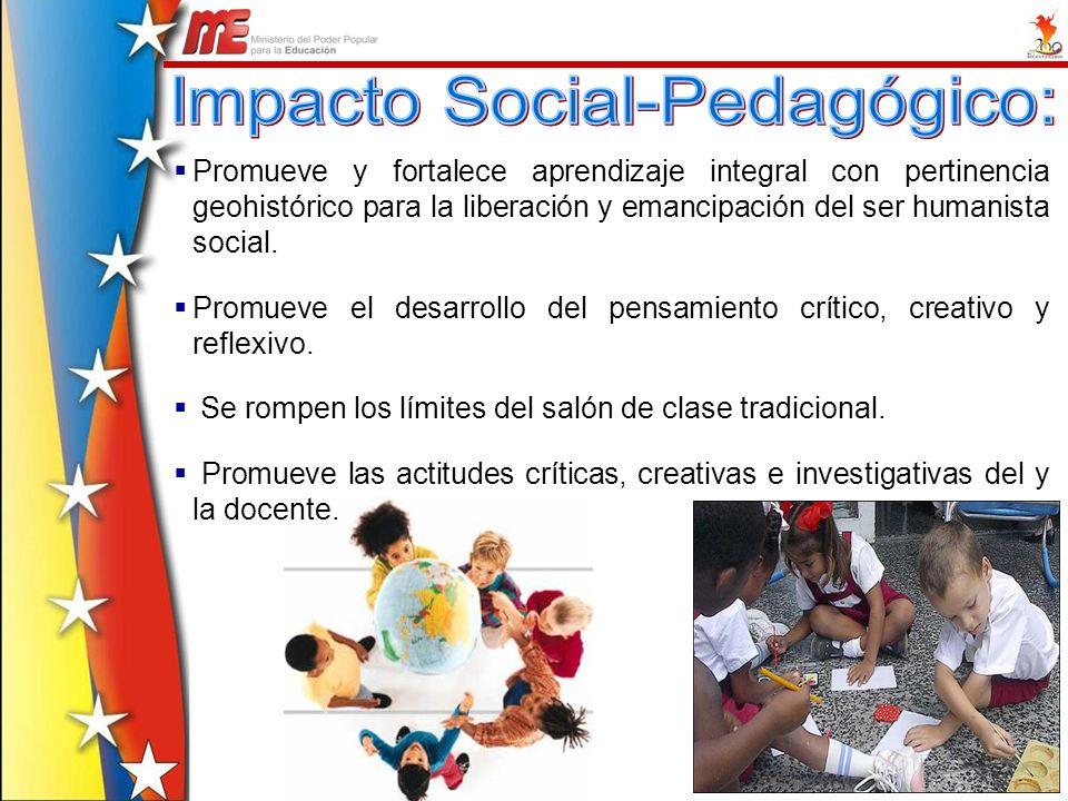 Impacto Social-Pedagógico: