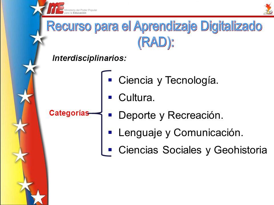Recurso para el Aprendizaje Digitalizado