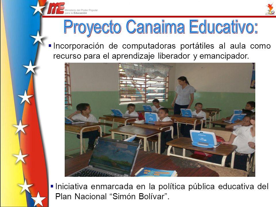Proyecto Canaima Educativo: