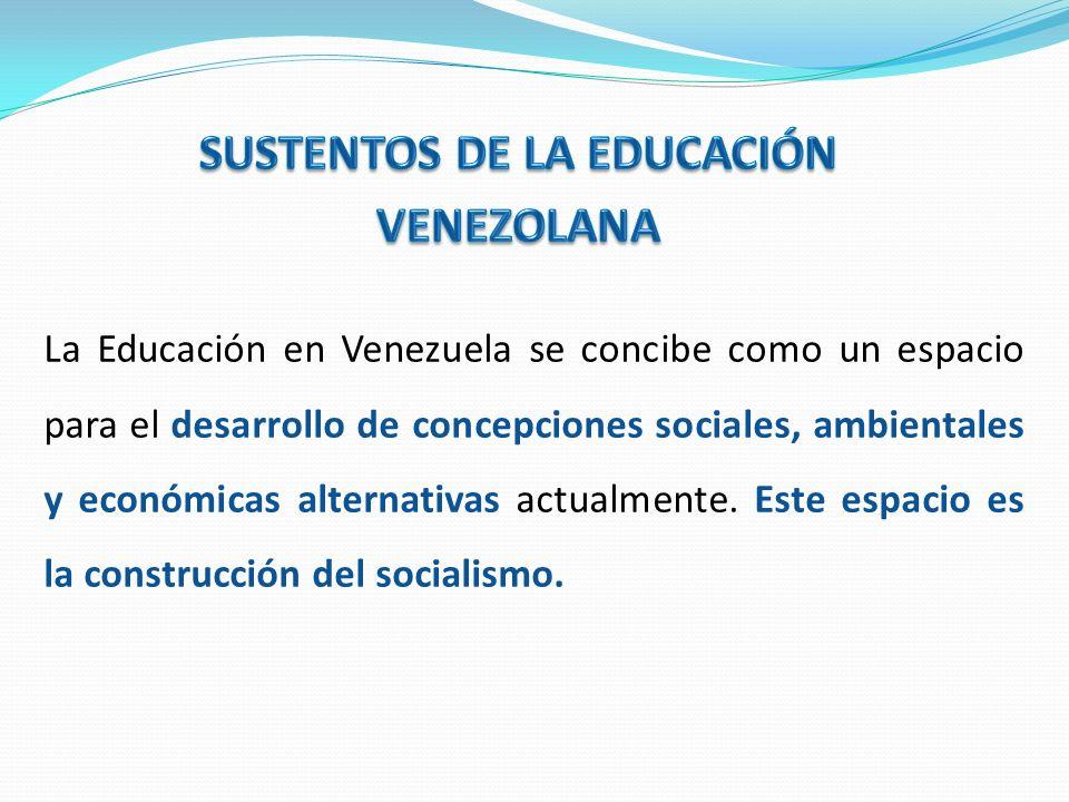 SUSTENTOS DE LA EDUCACIÓN