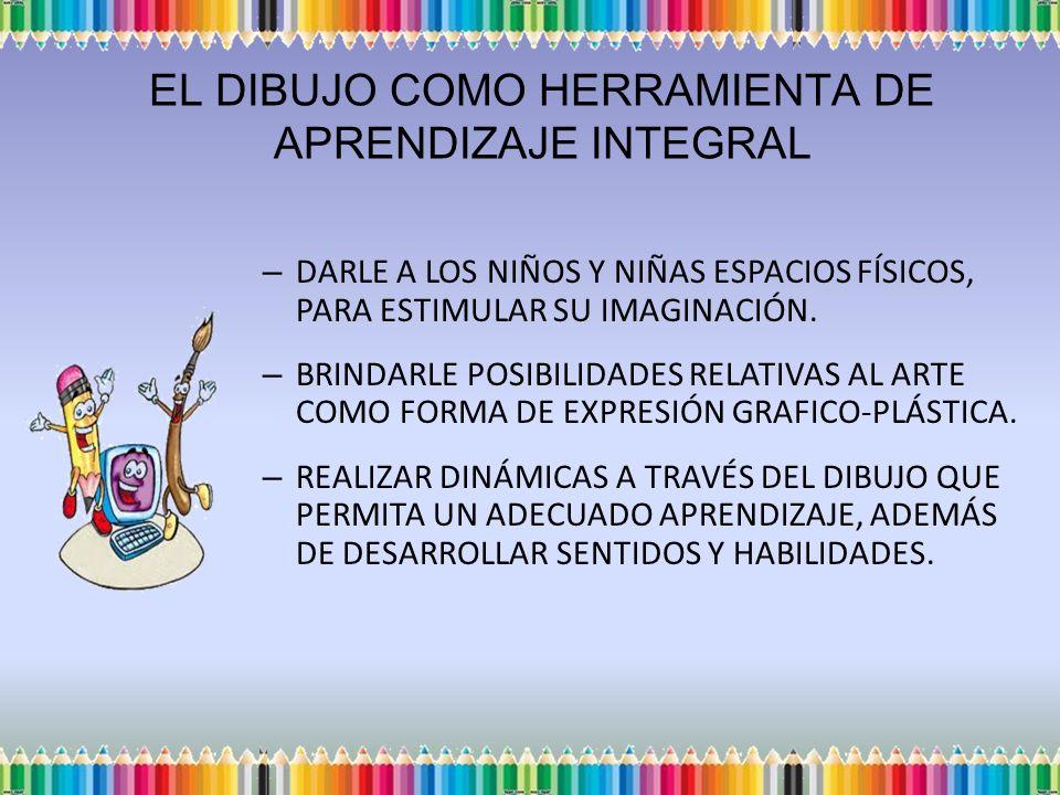 DARLE A LOS NIÑOS Y NIÑAS ESPACIOS FÍSICOS, PARA ESTIMULAR SU IMAGINACIÓN.