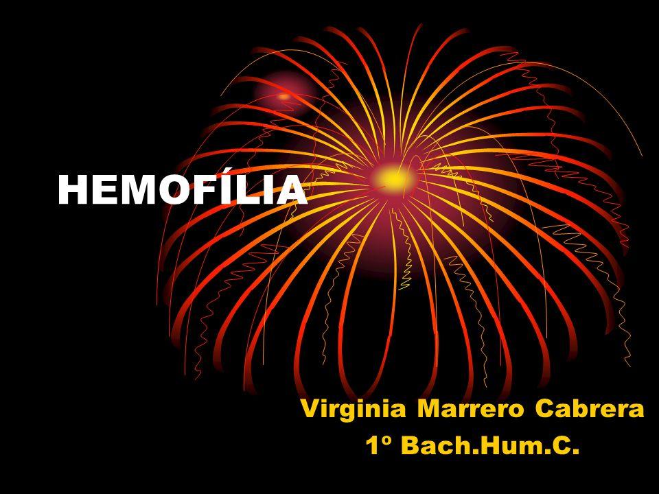Virginia Marrero Cabrera 1º Bach.Hum.C.