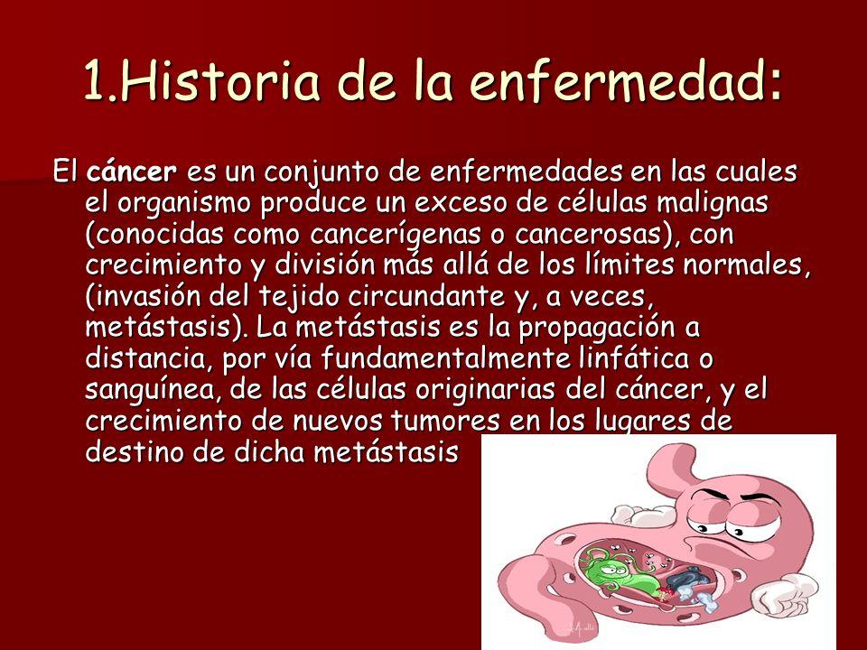 1.Historia de la enfermedad: