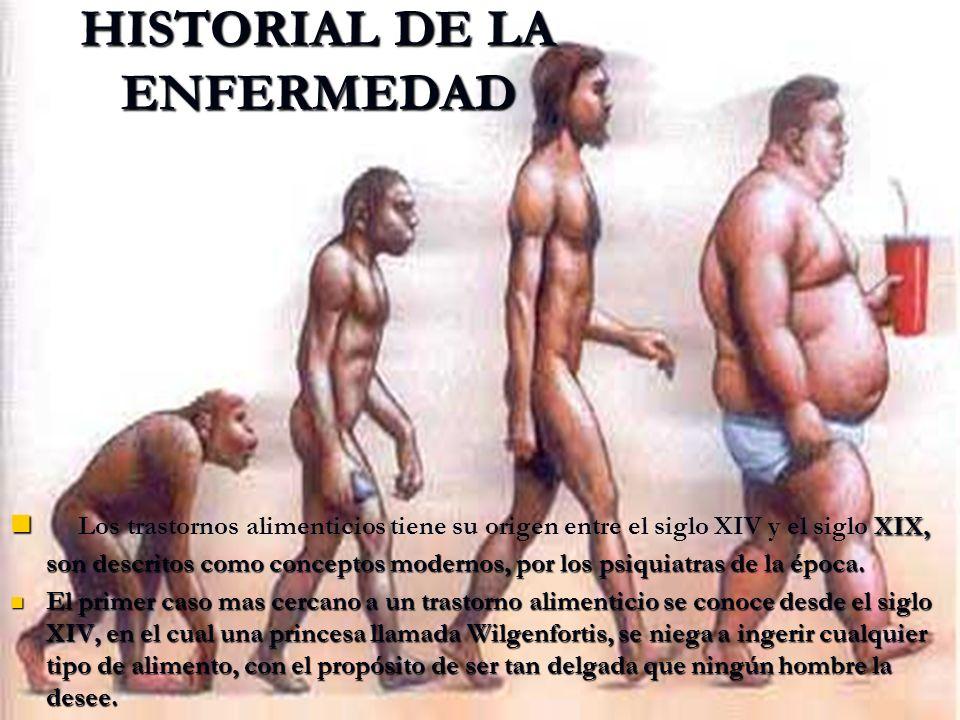 HISTORIAL DE LA ENFERMEDAD