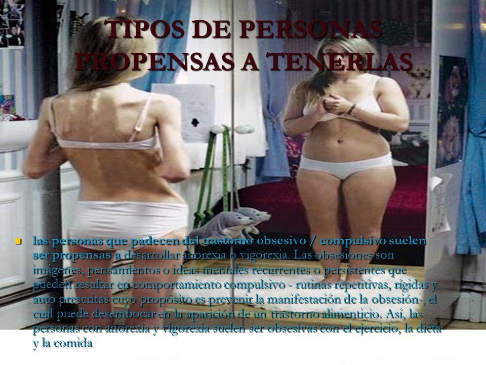 TIPOS DE PERSONAS PROPENSAS A TENERLAS