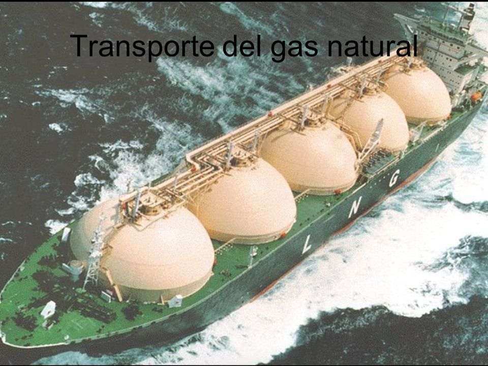Transporte del gas natural