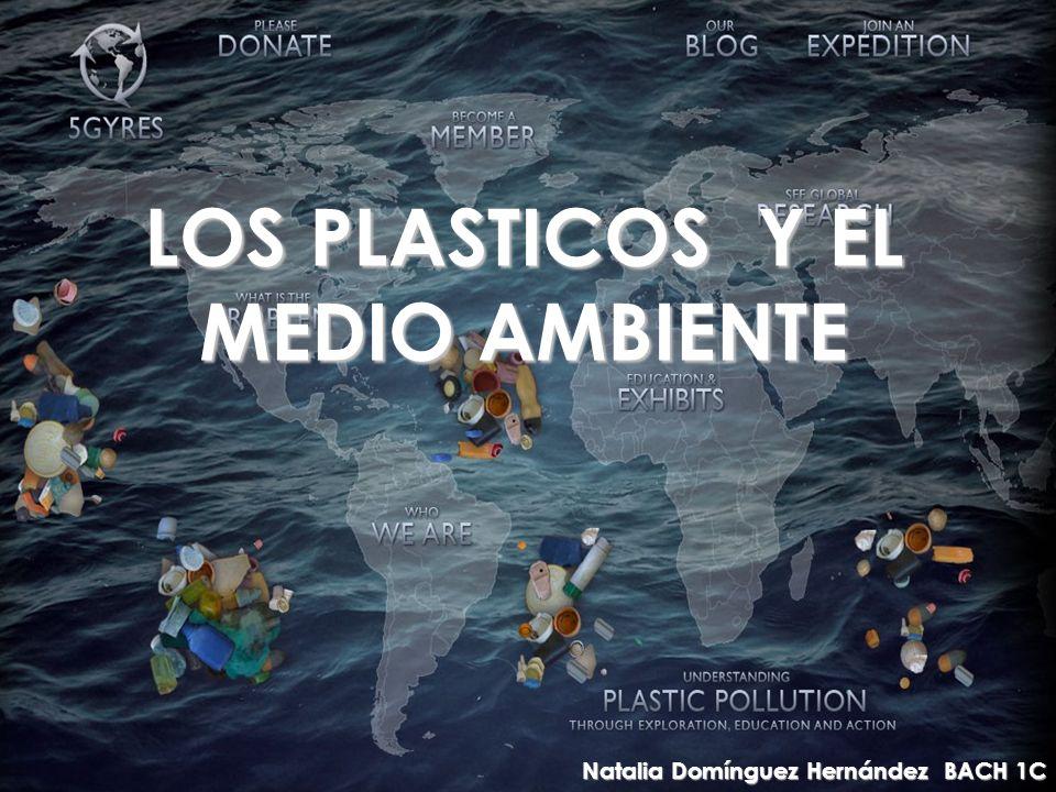 LOS PLASTICOS Y EL MEDIO AMBIENTE