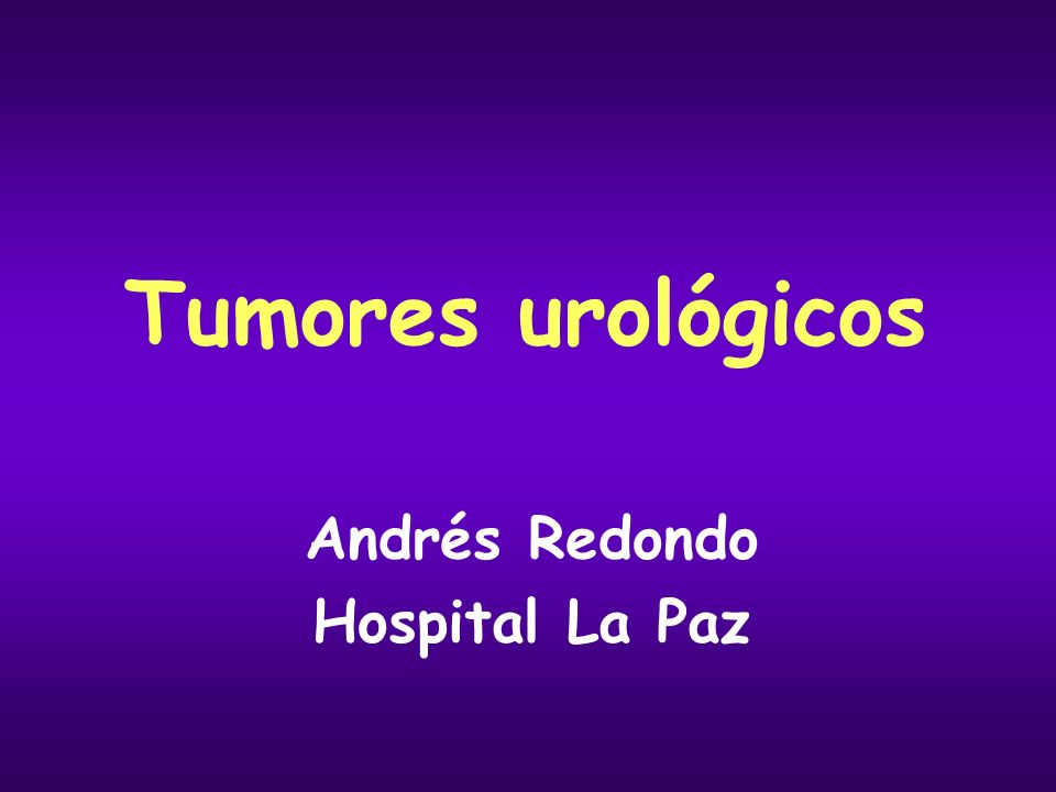 Andrés Redondo Hospital La Paz