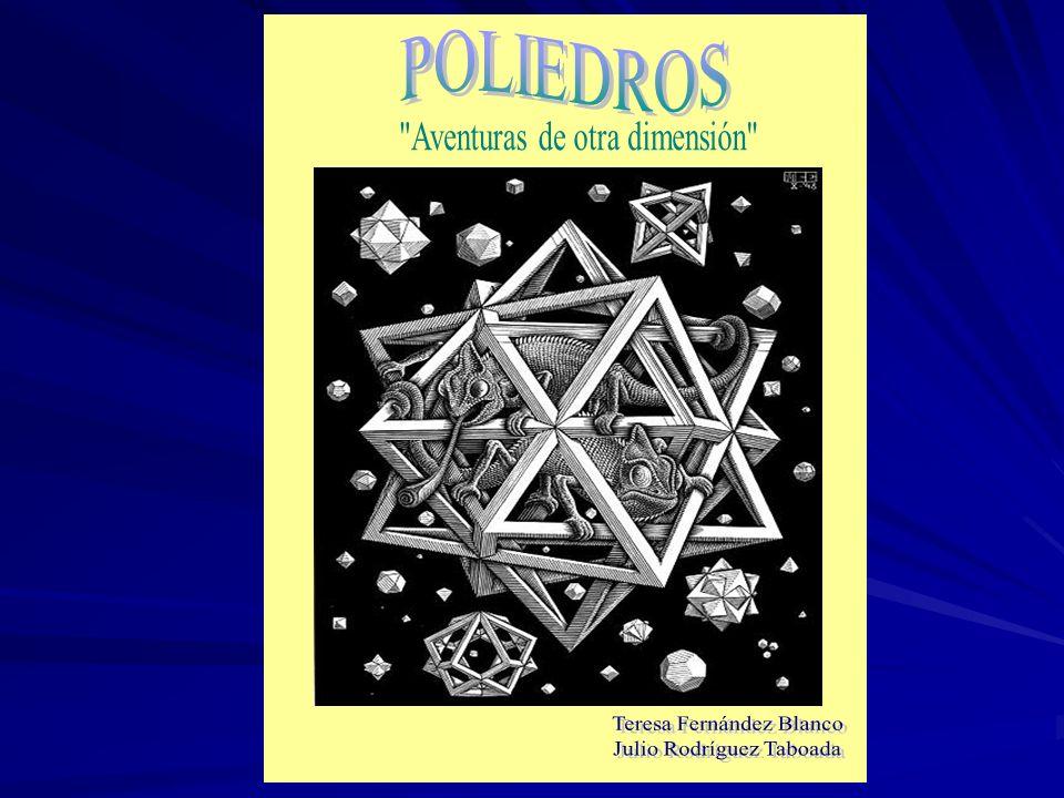 POLIEDROS Aventuras de otra dimensión Teresa Fernández Blanco