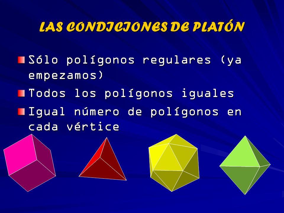 LAS CONDICIONES DE PLATÓN