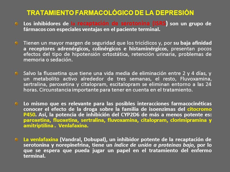 TRATAMIENTO FARMACOLÓGICO DE LA DEPRESIÓN