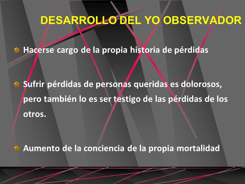 DESARROLLO DEL YO OBSERVADOR