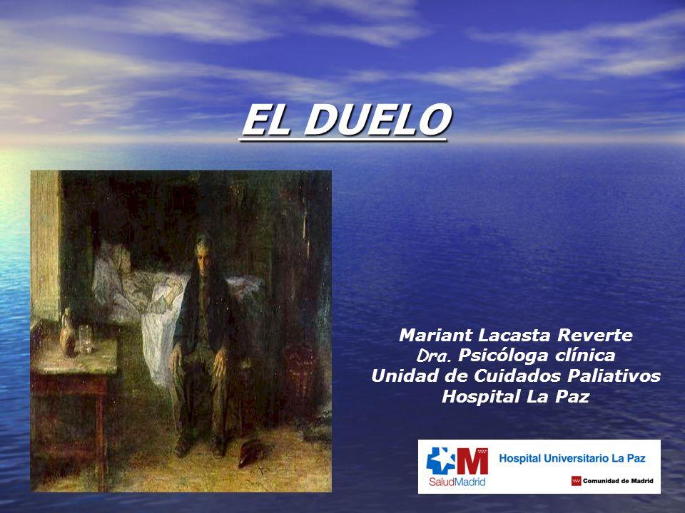 Mariant Lacasta Reverte Unidad de Cuidados Paliativos