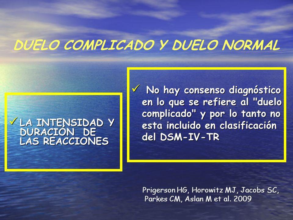 DUELO COMPLICADO Y DUELO NORMAL