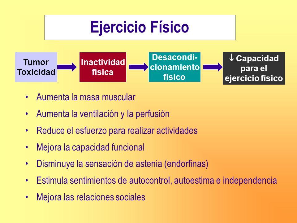 Ejercicio Físico Aumenta la masa muscular