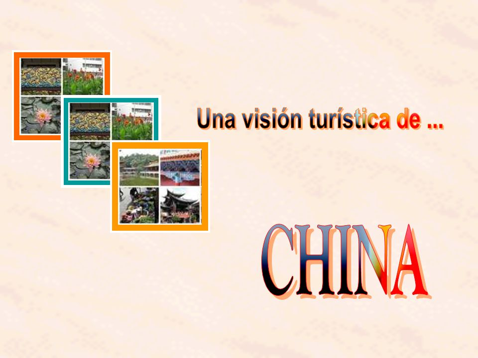 Una visión turística de ...