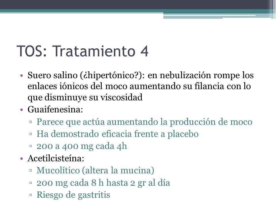 TOS: Tratamiento 4