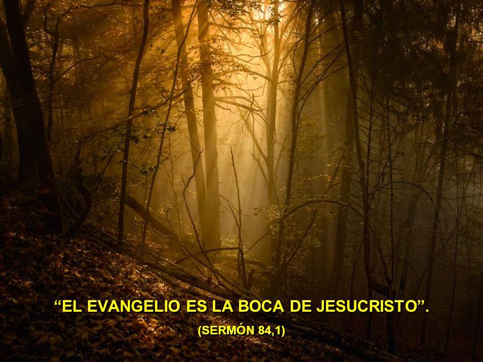 EL EVANGELIO ES LA BOCA DE JESUCRISTO . (SERMÓN 84,1)