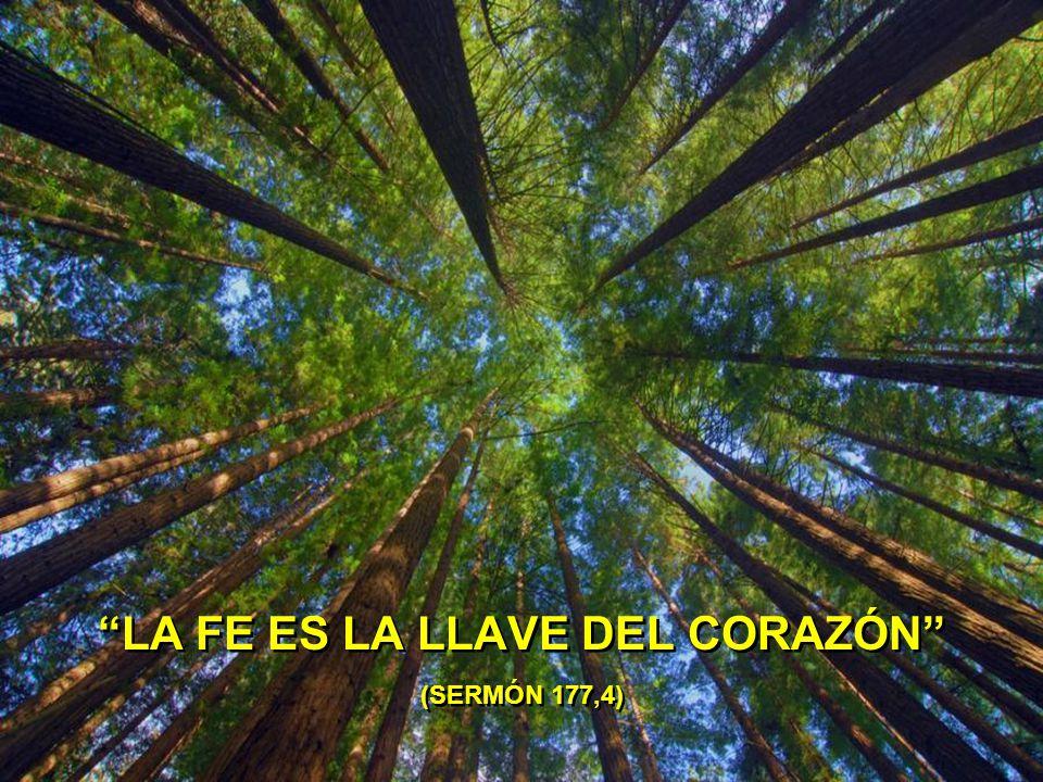 LA FE ES LA LLAVE DEL CORAZÓN (SERMÓN 177,4)