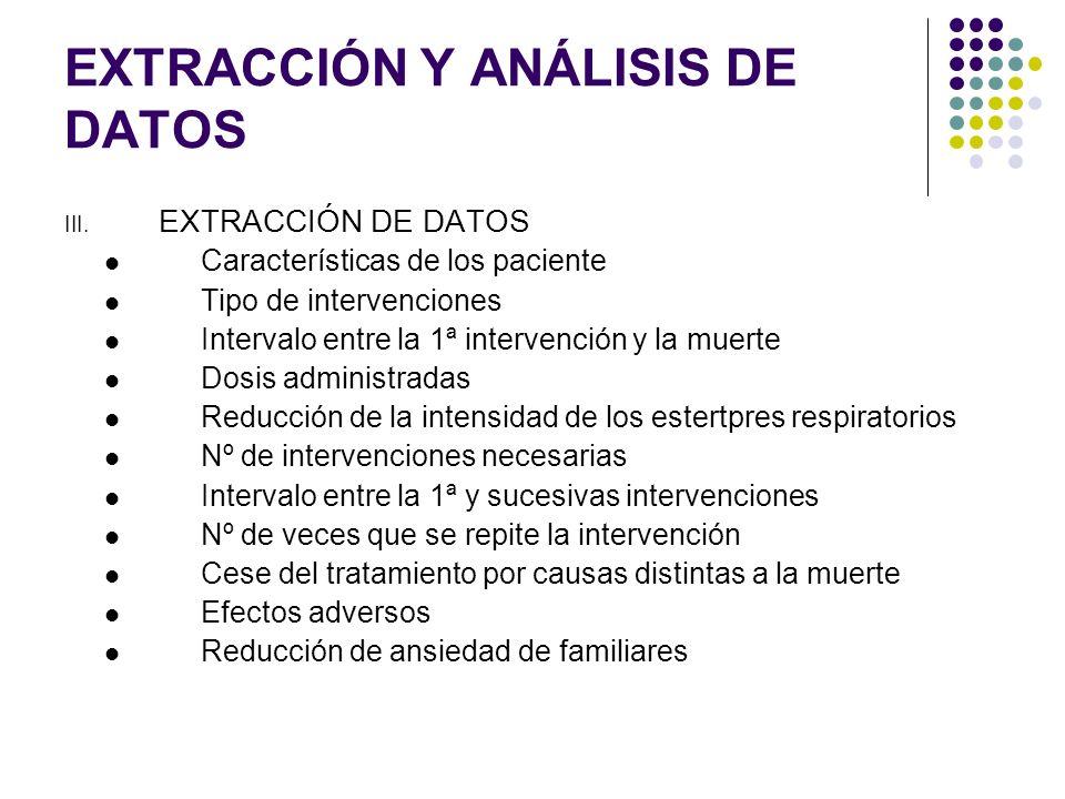 EXTRACCIÓN Y ANÁLISIS DE DATOS