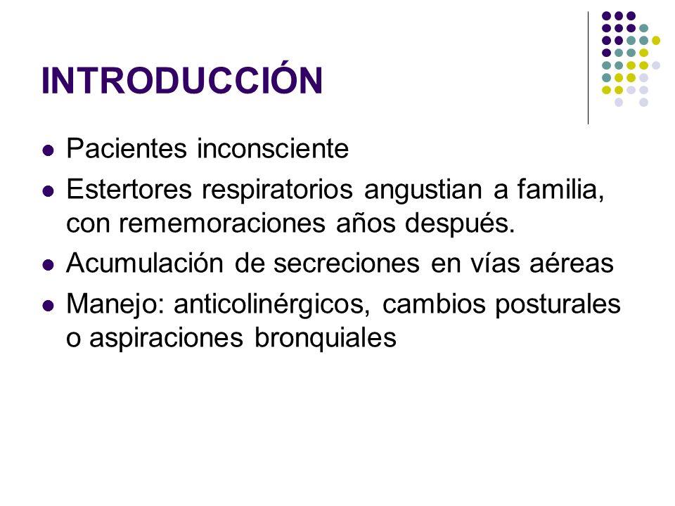 INTRODUCCIÓN Pacientes inconsciente