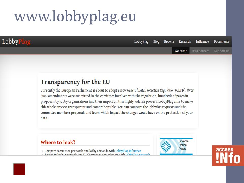 www.lobbyplag.eu