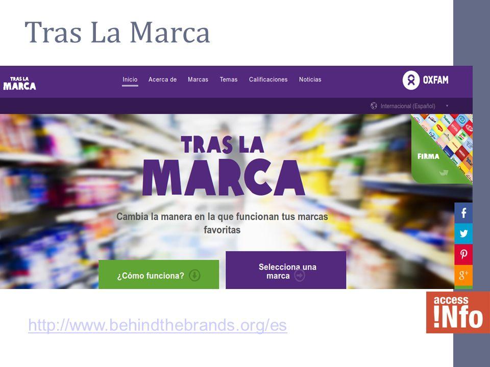 Tras La Marca http://www.behindthebrands.org/es