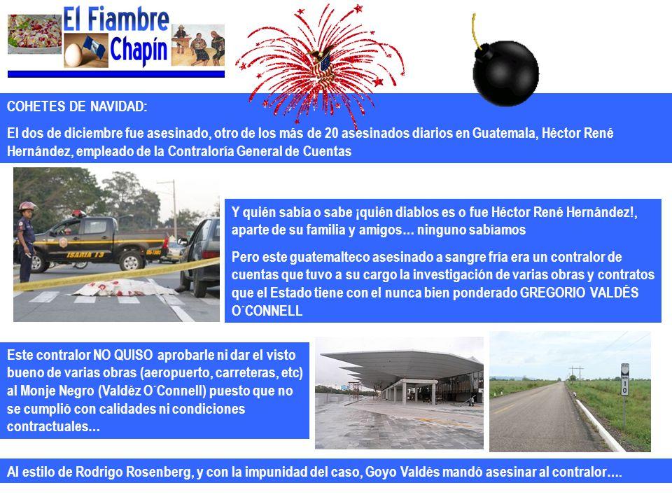 COHETES DE NAVIDAD: