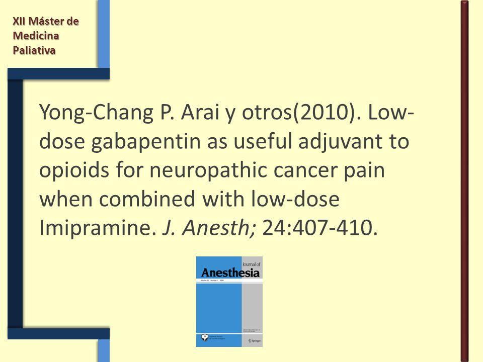 Yong-Chang P. Arai y otros(2010)