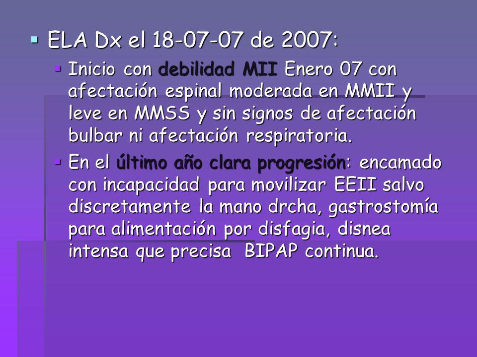 ELA Dx el 18-07-07 de 2007: