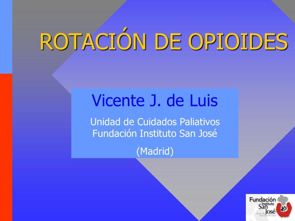 Unidad de Cuidados Paliativos Fundación Instituto San José