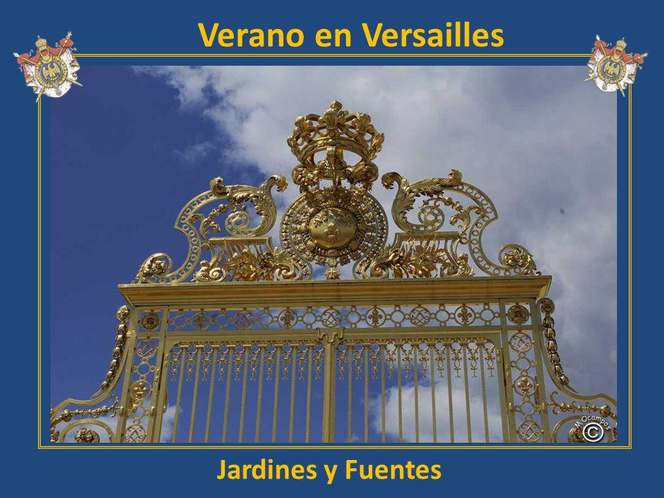 Verano en Versailles Jardines y Fuentes