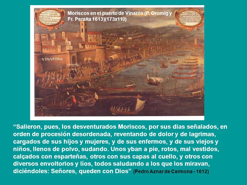 Moriscos en el puerto de Vinarós (P. Oromig y Fr