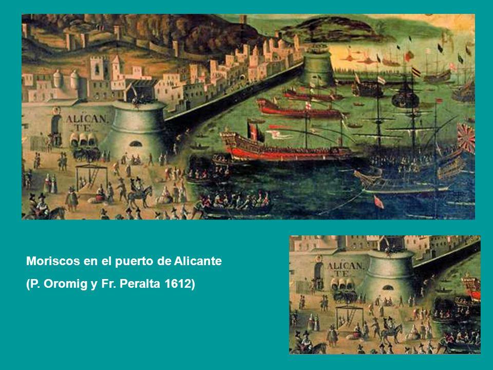 Moriscos en el puerto de Alicante
