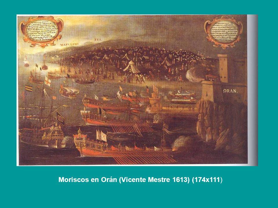 Moriscos en Orán (Vicente Mestre 1613) (174x111)