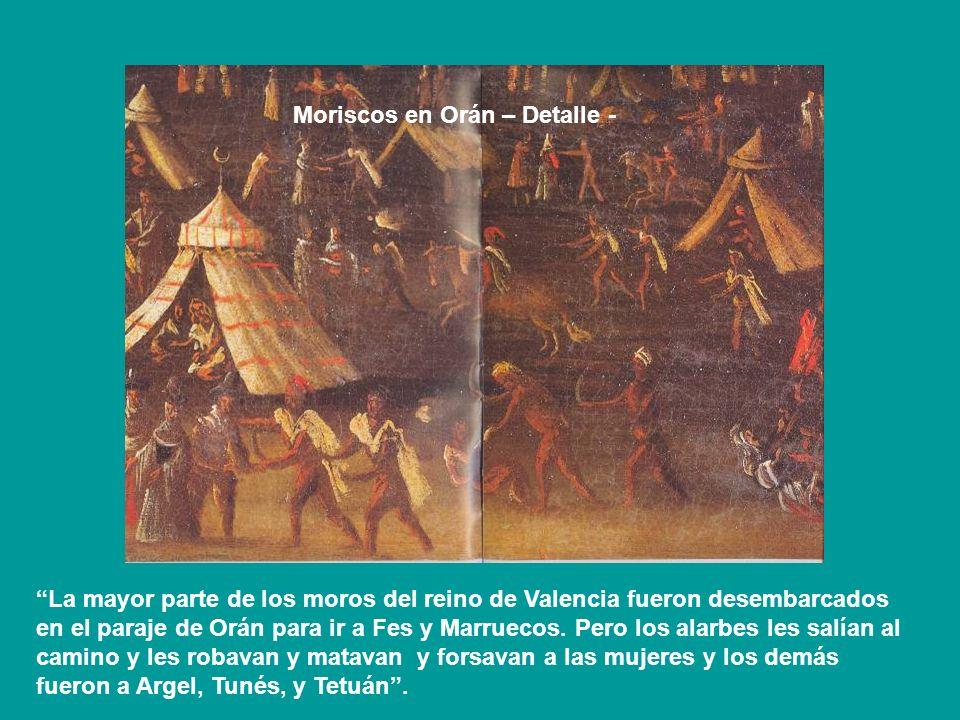 Moriscos en Orán – Detalle -