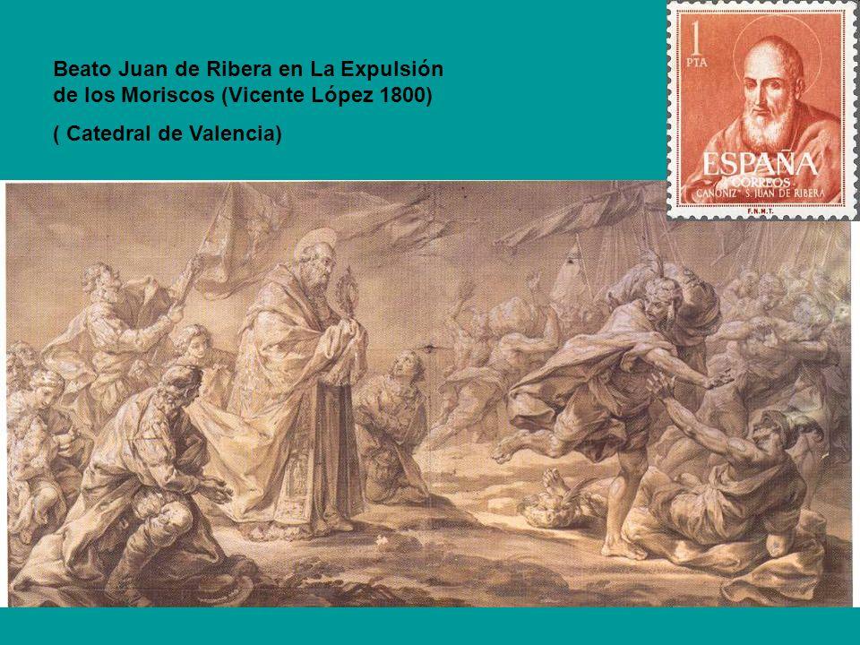 Beato Juan de Ribera en La Expulsión de los Moriscos (Vicente López 1800)