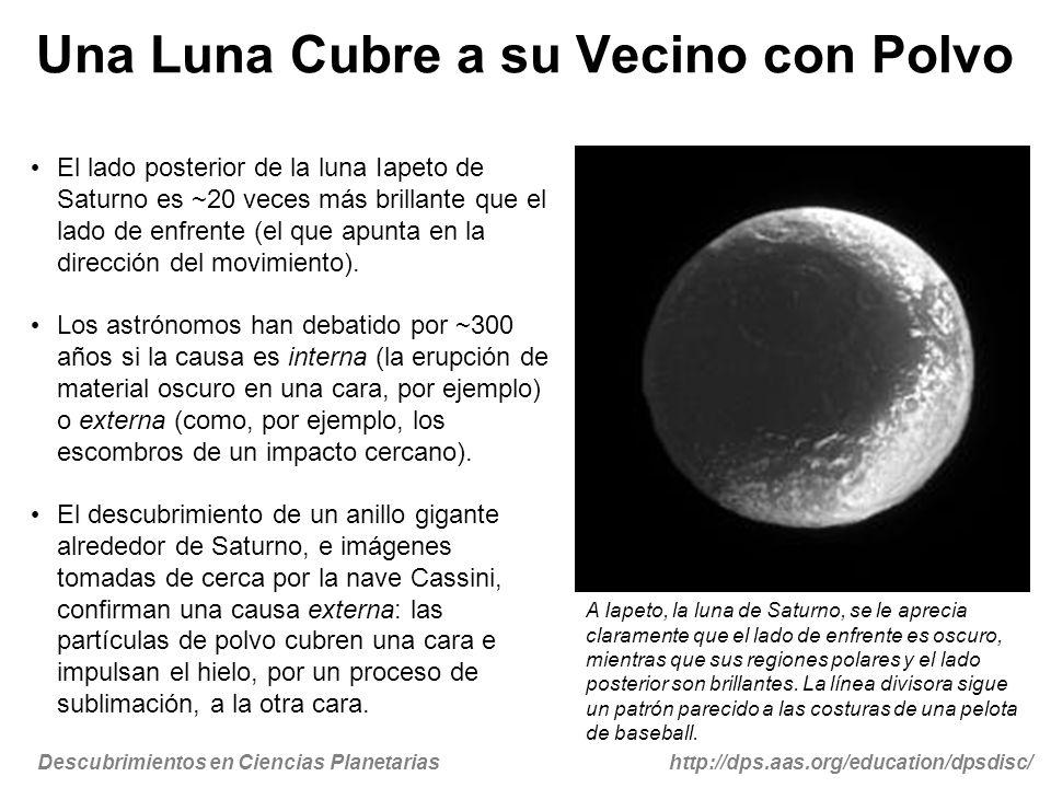Una Luna Cubre a su Vecino con Polvo