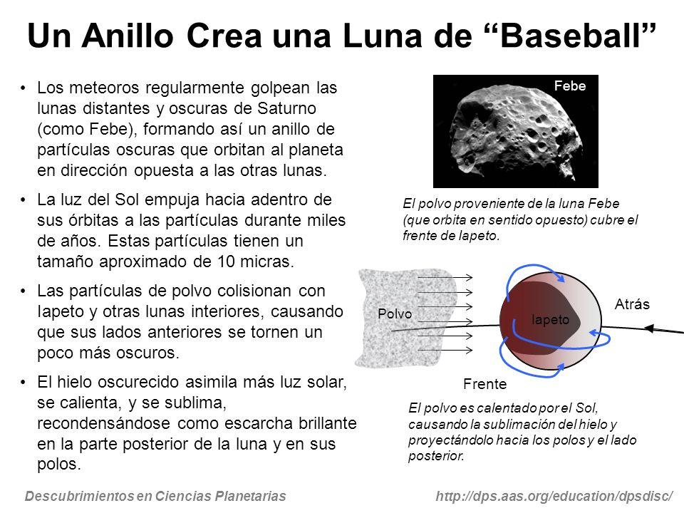 Un Anillo Crea una Luna de Baseball