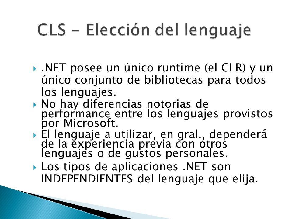 CLS - Elección del lenguaje