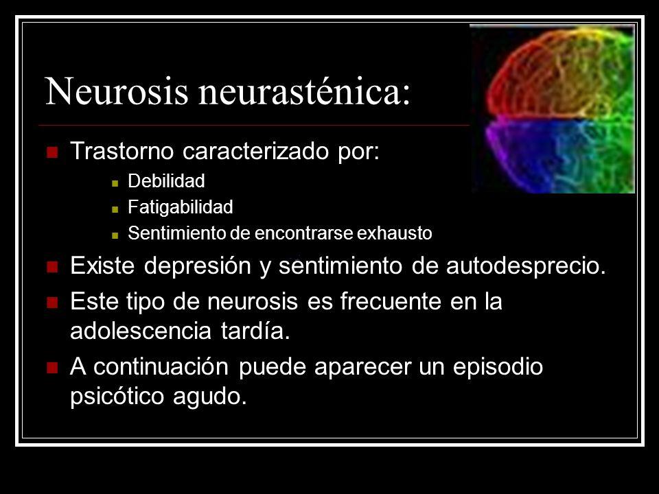 Neurosis neurasténica: