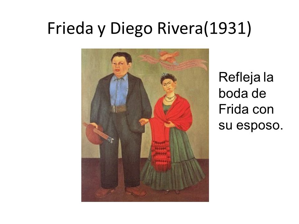 Frieda y Diego Rivera(1931)