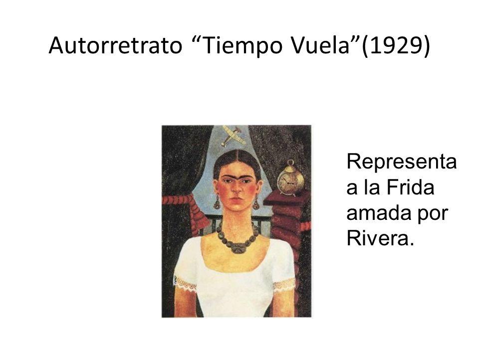 Autorretrato Tiempo Vuela (1929)