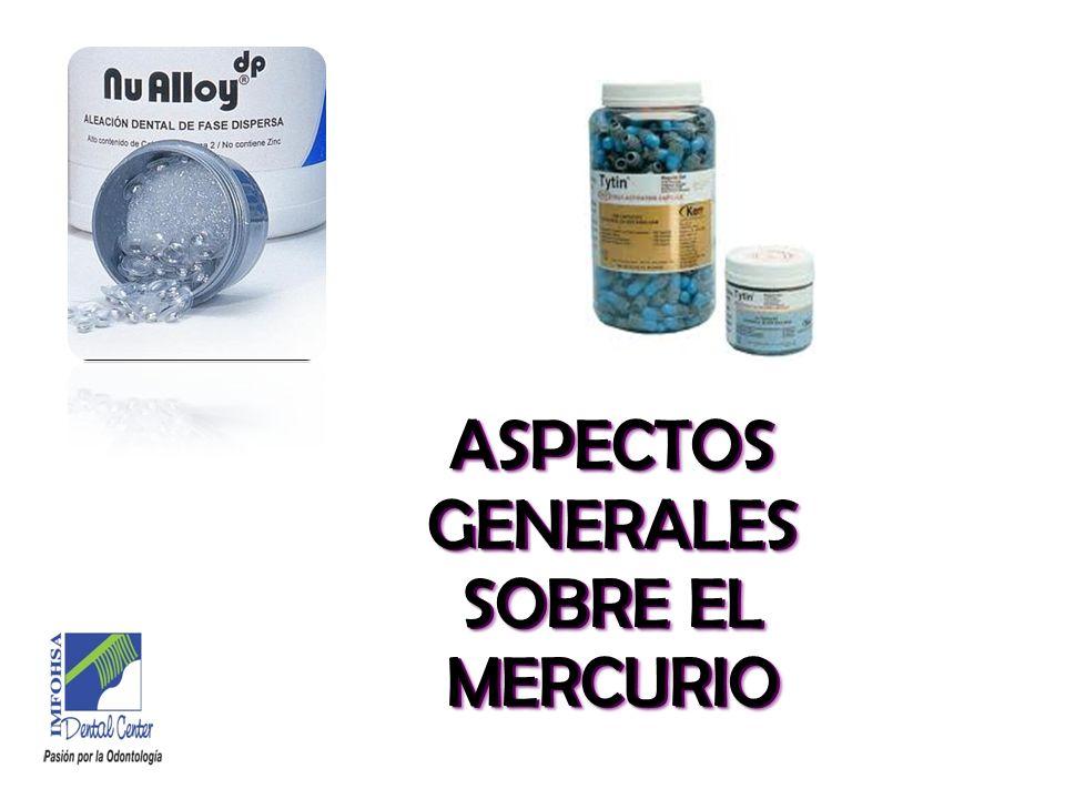 ASPECTOS GENERALES SOBRE EL MERCURIO