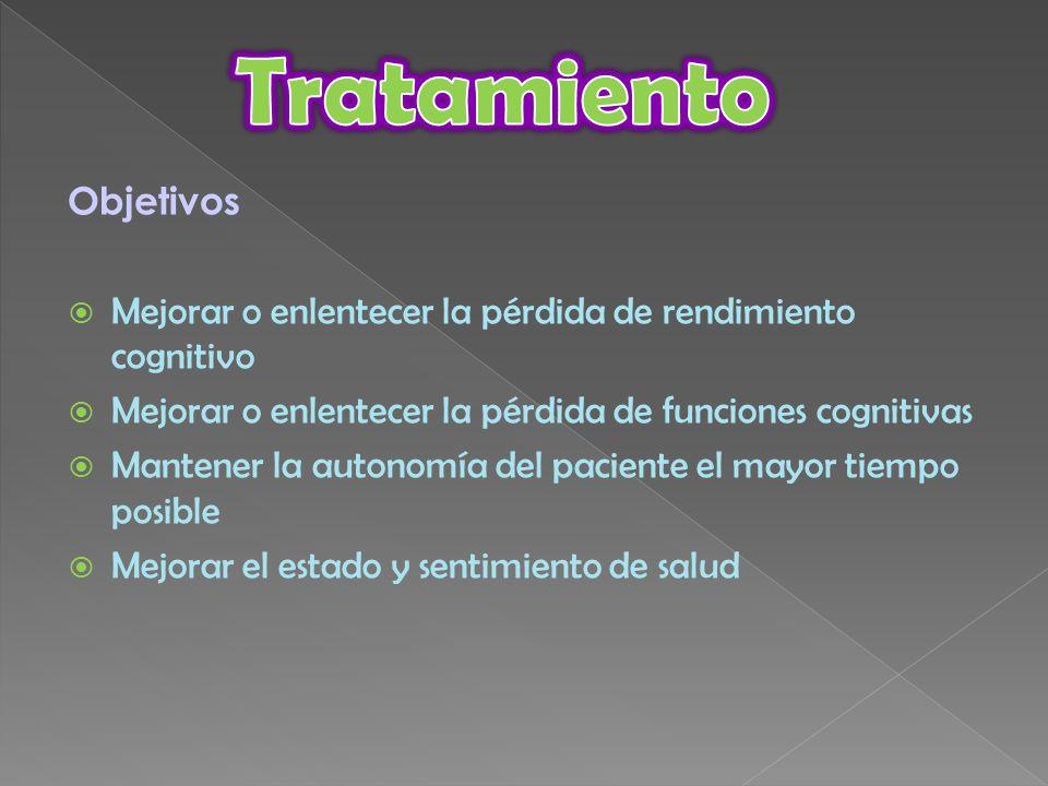 Tratamiento Objetivos