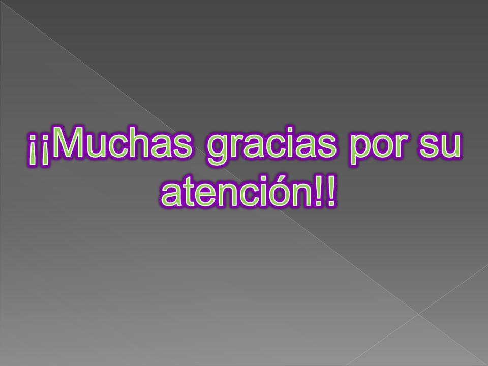 ¡¡Muchas gracias por su