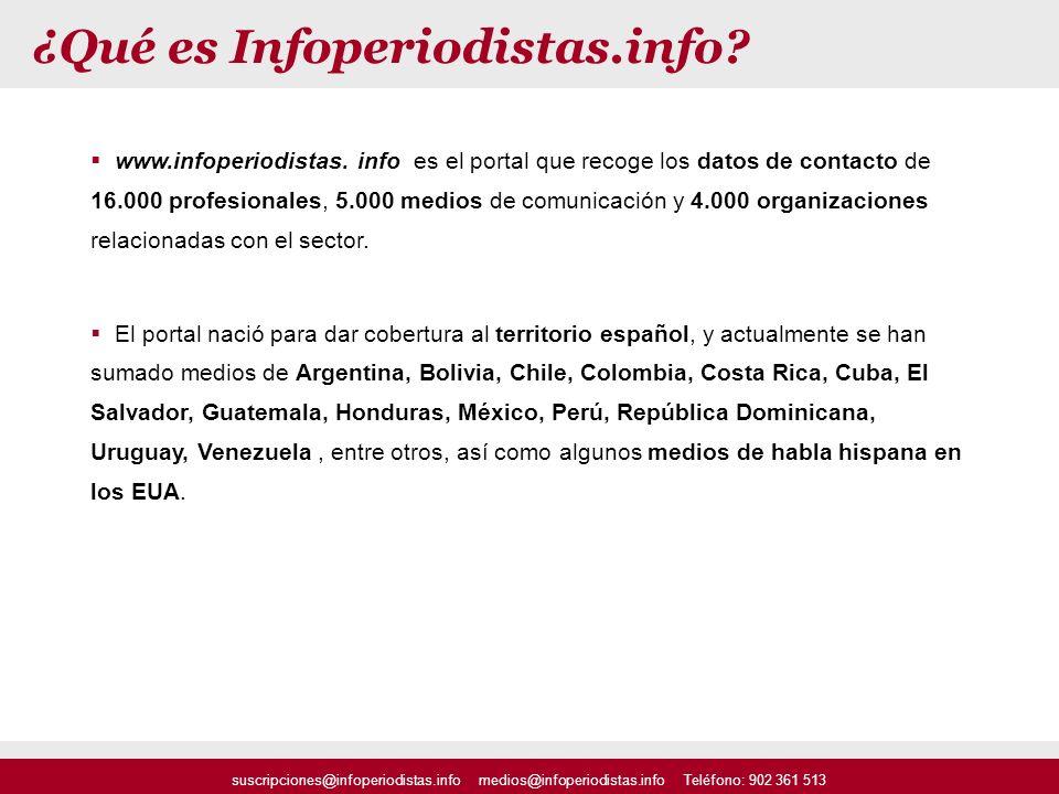 ¿Qué es Infoperiodistas.info