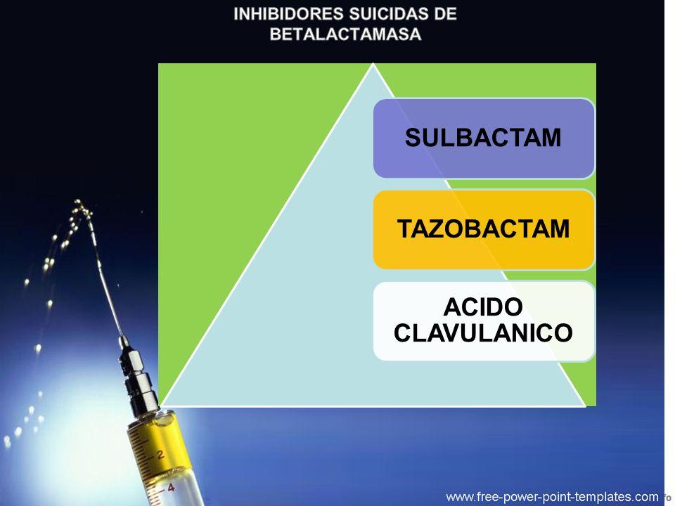 INHIBIDORES SUICIDAS DE BETALACTAMASA
