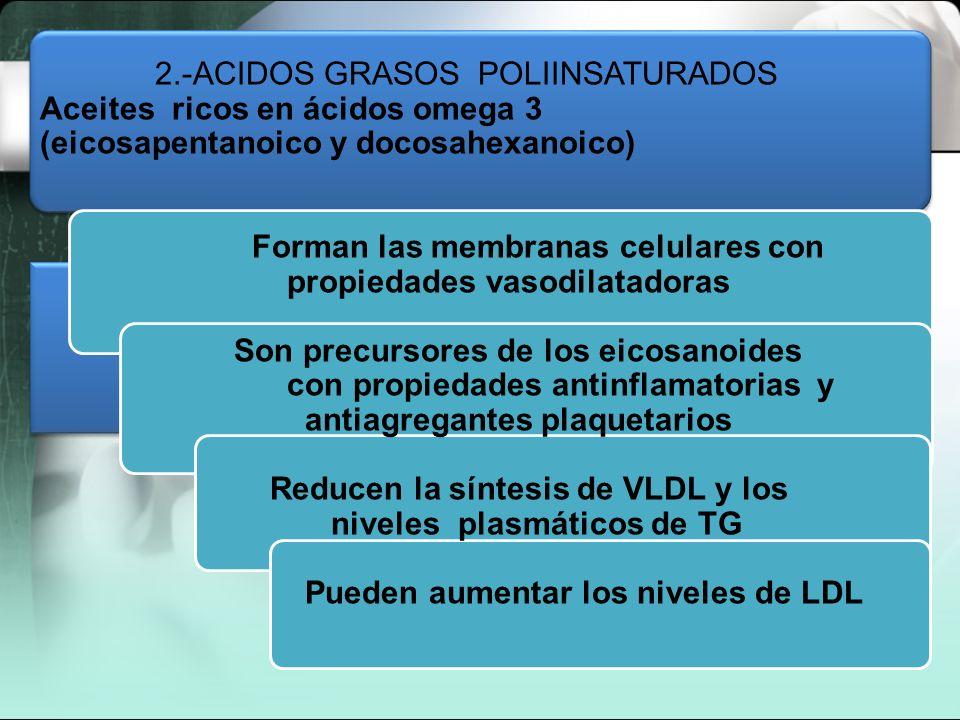 2.-ACIDOS GRASOS POLIINSATURADOS